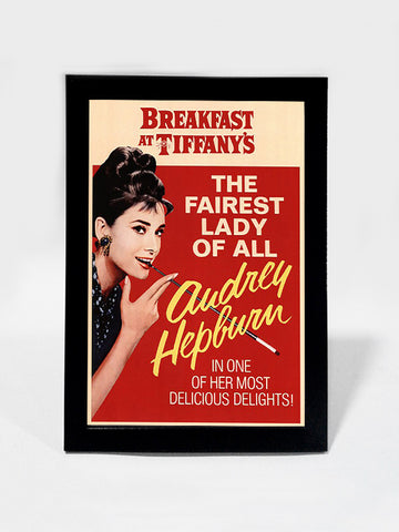 Framed Art, Audrey Hepburn  Delicious Delights | Framed Art, - PosterGully