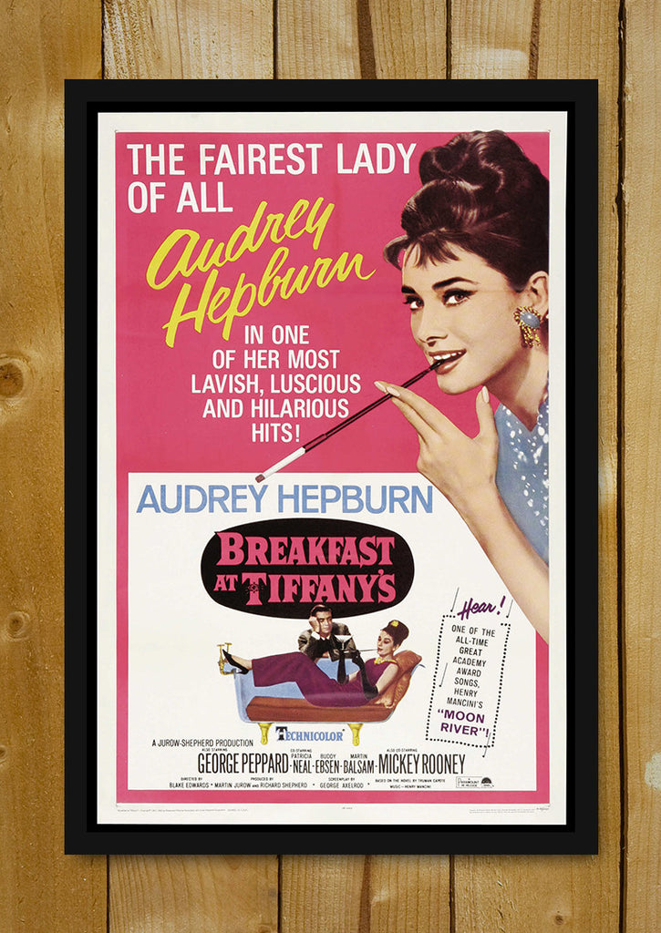 buy framed posters online shopping india audrey hepburn pink poster glass framed poster. Black Bedroom Furniture Sets. Home Design Ideas