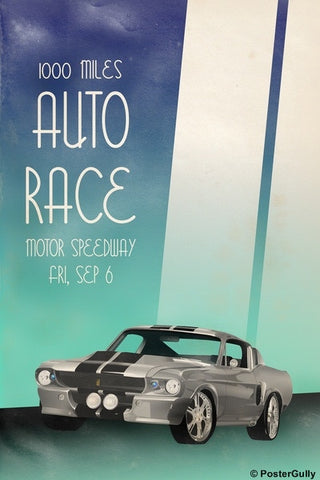Wall Art, Auto Race | Vintage Racing, - PosterGully