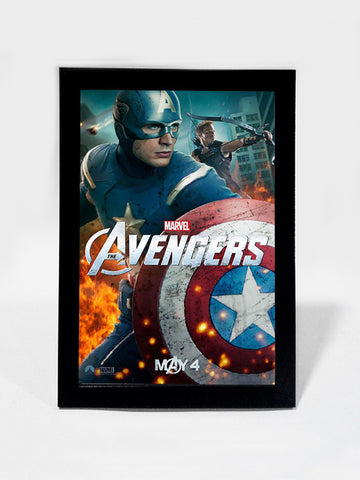 Framed Art, Avengers Movie Teaser | Framed Art, - PosterGully