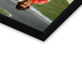 Glass Framed Posters, Ayrton Sena Formula One Glass Framed Poster, - PosterGully - 2