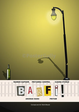 Wall Art, Barfi | Minimal Bollywood Art, - PosterGully