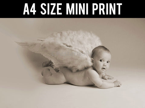 Mini Prints, Baby | Angel | Mini Print, - PosterGully