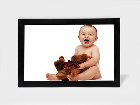 Framed Art, Baby Teddy Bear | Framed Art, - PosterGully