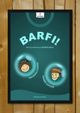 Glass Framed Posters, Barfi | Cartoon Art | Glass Framed Poster, - PosterGully - 1