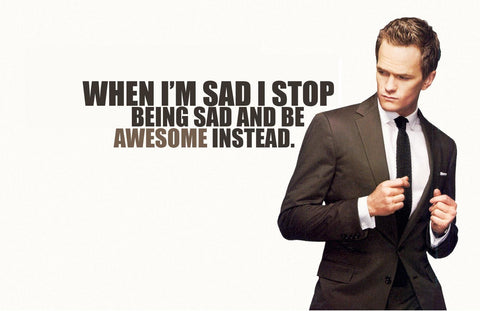 PosterGully Specials, Barney Stinson | How I Met Your Mother Quote, - PosterGully