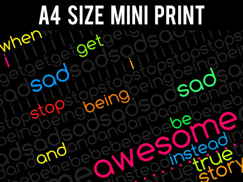 Mini Prints, Barney Stinson | True Story | Mini Print, - PosterGully