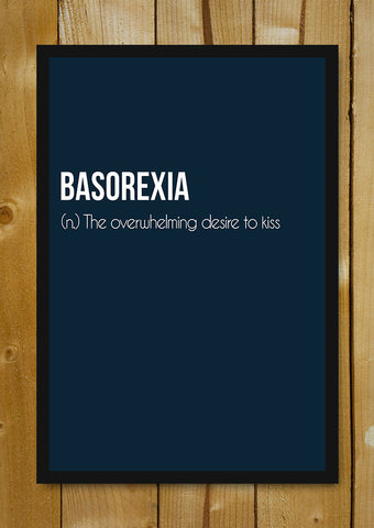 Glass Framed Posters, Basorexia Glass Framed Poster, - PosterGully - 1