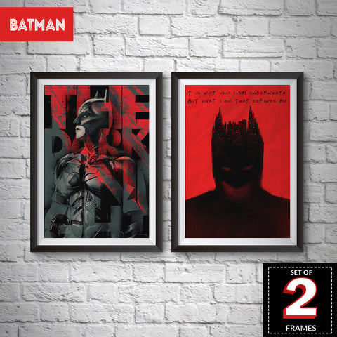 Set of 2 Batman Frames
