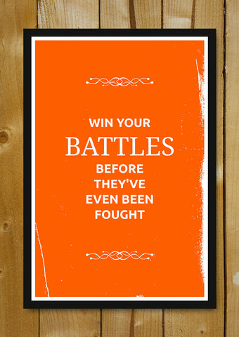Glass Framed Posters, Battles Suits Glass Framed Poster, - PosterGully - 1