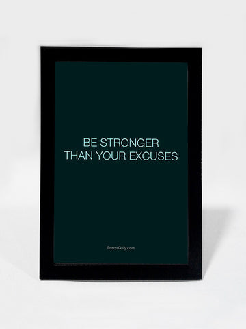 Framed Art, Be Stronger. | Framed Art, - PosterGully
