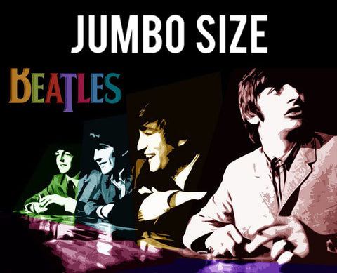 Jumbo Poster, Beatles Multicolour Collage | Jumbo Poster, - PosterGully