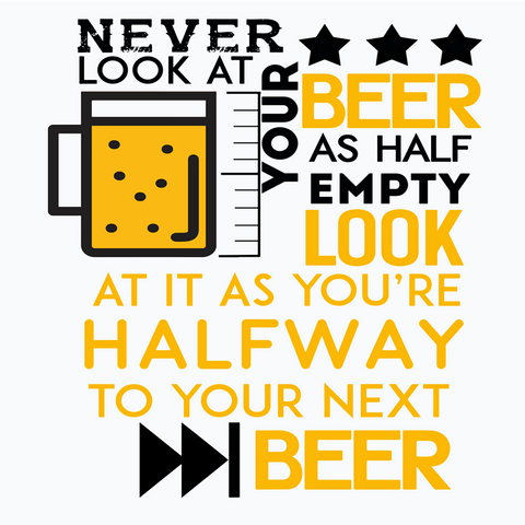 Beer Humour Quote Square Art Prints | Artist : Manju Nk