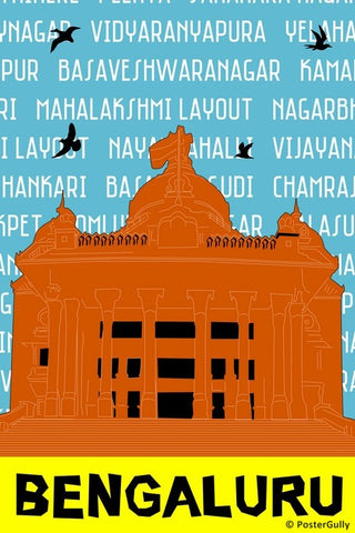 Wall Art, Bengaluru Pop Art | Bangalore, - PosterGully