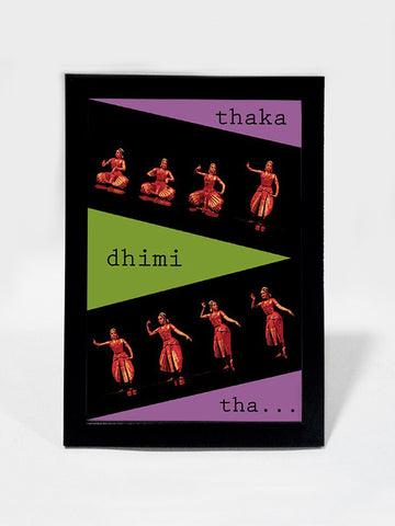 Framed Art, Bharatanatyam Dance Steps | Framed Art, - PosterGully