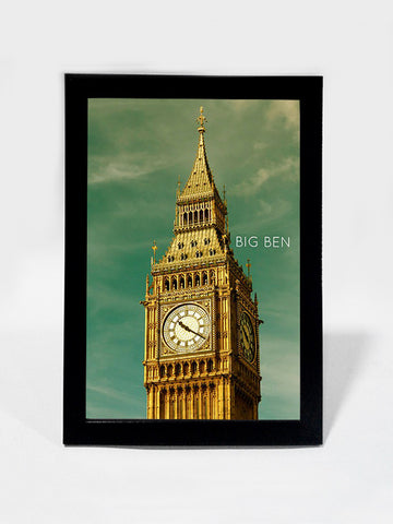 Framed Art, Big Ben Tower Sky London | Framed Art, - PosterGully
