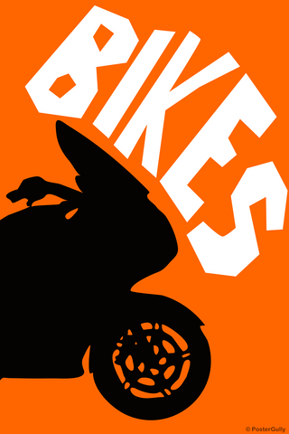 Wall Art, Bike Pop Art, - PosterGully