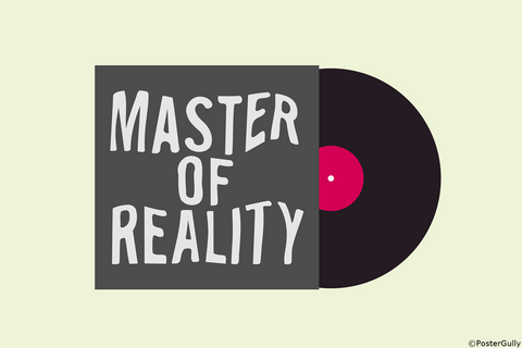 Wall Art, Black Sabbath Master Of Reality | Album Cover, - PosterGully