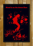 Glass Framed Posters, Blood Michael Jackson Dance MoonWalk Glass Framed Poster, - PosterGully - 1