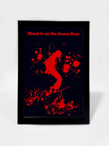 Framed Art, Blood Michael Jackson Dance MoonWalk | Framed Art, - PosterGully