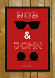 Glass Framed Posters, Bob And John Humour Glass Framed Poster, - PosterGully - 5