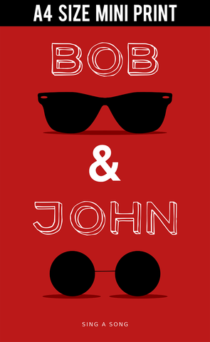 Mini Prints, Bob And John Humour | Mini Print, - PosterGully