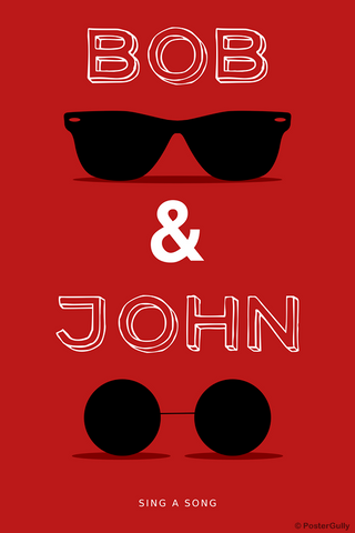 Wall Art, Bob And John Humour, - PosterGully