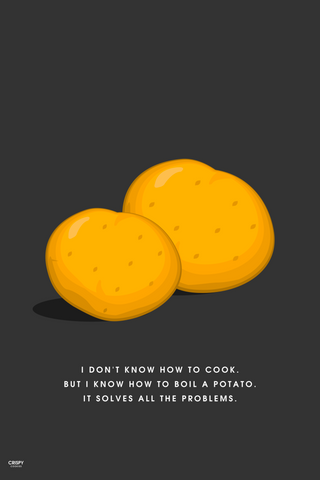 Wall Art, Boil Of Potato, - PosterGully