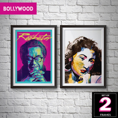 Set of 2 Bollywood Frames