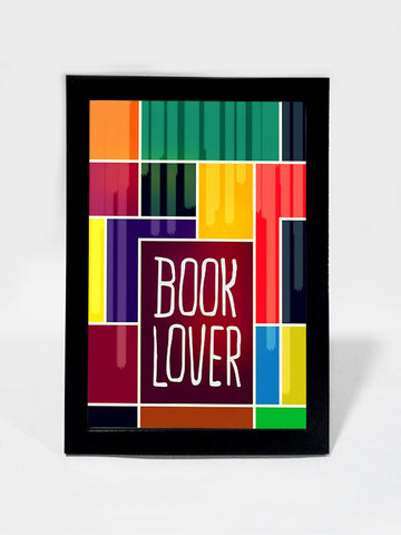 Framed Art, Book Lover Pop Art | Framed Art, - PosterGully