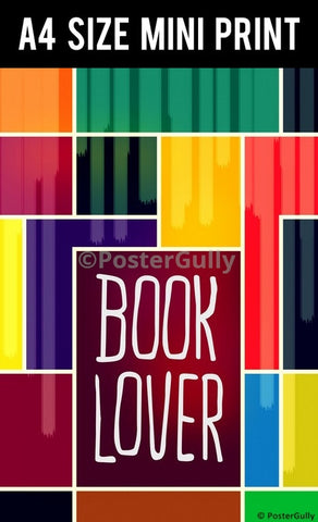 Mini Prints, Book Lover Pop Art | Mini Print, - PosterGully