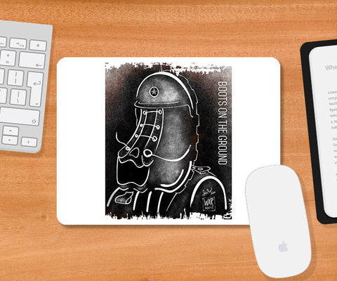 Mousepads, Boots On The Ground Mousepad | Artist: Devraj Baruah, - PosterGully