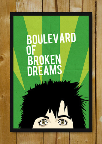 Glass Framed Posters, Boulevard Green Day Glass Framed Poster, - PosterGully - 1