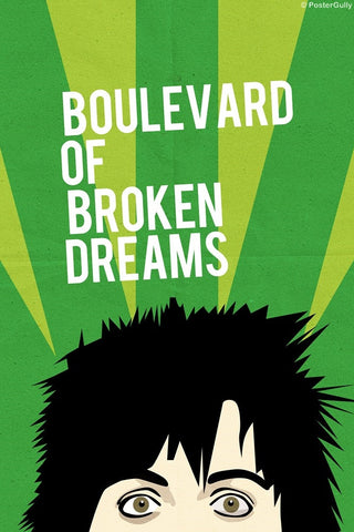 Wall Art, Boulevard | Green Day, - PosterGully