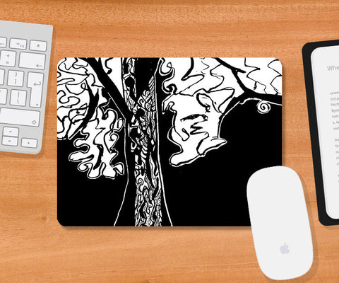 Mousepads, Branch Of Tree Mousepad | Artist: Sunanda Puneet, - PosterGully