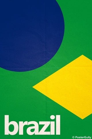 Wall Art, Brazil Soccer Team #footballfan, - PosterGully
