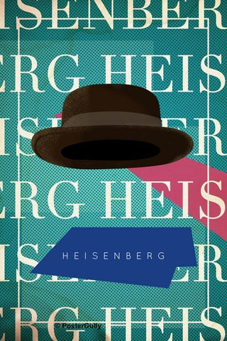 Wall Art, Breaking Bad | Hat | Heisenberg, - PosterGully