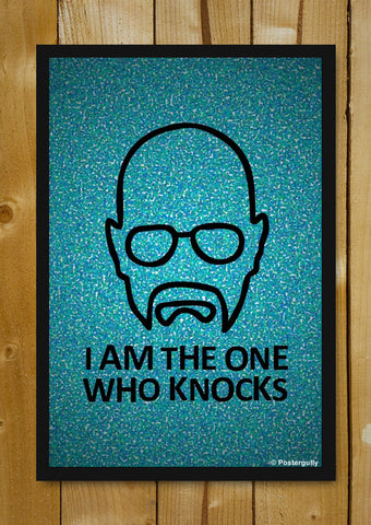 Glass Framed Posters, Breaking Bad | Knocks | Pop Color | Glass Framed Poster, - PosterGully - 1