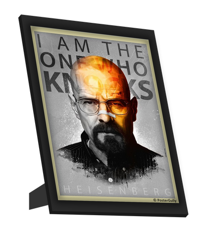 Framed Art, Breaking Bad Artwork Jaydhrit Framed Art, - PosterGully