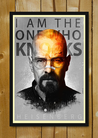 Glass Framed Posters, Breaking Bad Artwork Jaydhrit Glass Framed Poster, - PosterGully - 1