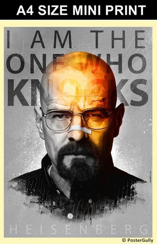 Mini Prints, Breaking Bad Artwork | Jaydhrit  | Mini Print, - PosterGully