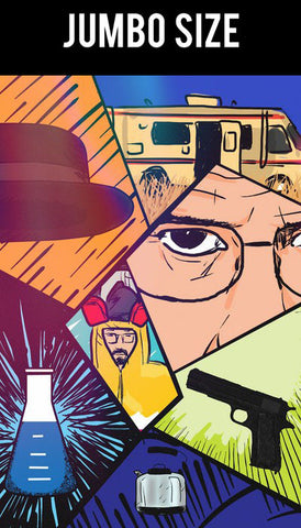 Jumbo Poster, Breaking Bad Collage | Jumbo Poster, - PosterGully
