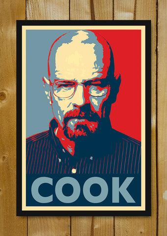 Glass Framed Posters, Breaking Bad Cook Glass Framed Poster, - PosterGully - 1