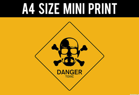 Mini Prints, Breaking Bad | Danger | Mini Print, - PosterGully