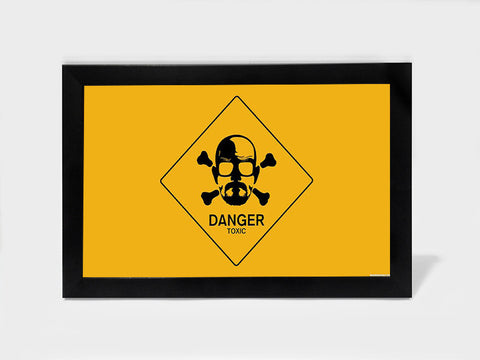 Framed Art, Breaking Bad Danger | Framed Art, - PosterGully