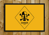 Glass Framed Posters, Breaking Bad Danger Glass Framed Poster, - PosterGully - 1
