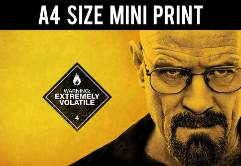 Mini Prints, Breaking Bad | Extremely Volatile | Mini Print, - PosterGully
