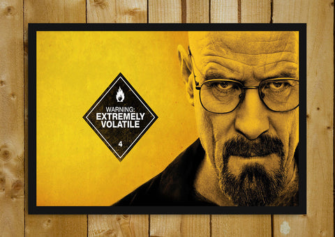 Glass Framed Posters, Breaking Bad Extremely Volatile Glass Framed Poster, - PosterGully - 1