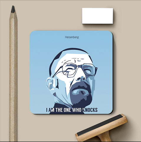 PosterGully Coasters, Breaking Bad Geometrical Coaster | Artist: Praveen Prabhaka, - PosterGully