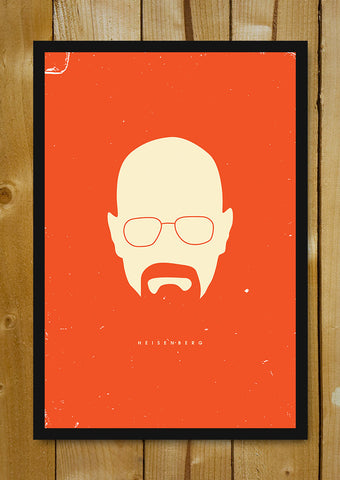Glass Framed Posters, Breaking Bad Orange Glass Framed Poster, - PosterGully - 1